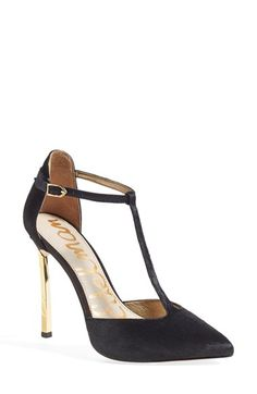 7b2349dcb5b9b2 Sam Edelman  Smithfield  T-Strap Pump (Women) available at  Nordstrom