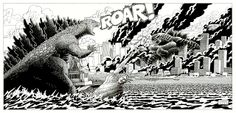 Czajnik's Workshop: Godzilla vs Gamera
