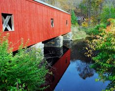 Slide Show | Covered Bridges of New England - Yankee Foliage - Your Source for New England Fall Foliage
