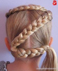 65 En Iyi Kinderfrisuren Für Mädchen Mädchen Frisuren 2019 Görüntüsü