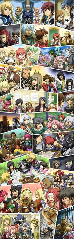 Tales Montage  I love this so much lol