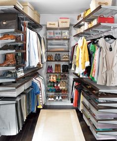 Smart Luxury Walk In Closet Design That Will Change Your Wardrobe organization ideas master shared The 9 Best Closet Systems of 2020 Home Organization Wall, Small Closet Organization, Closet Storage, Organization Ideas, Storage Ideas, Elfa Closet System, Best Closet Systems, Elfa Shelving, Shop Shelving