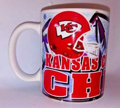 Kansas City Chiefs Coffee Mug Cup NFL Football