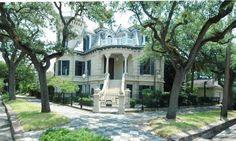 $1.3 Million will buy you Trube Castle in downtown Galveston.
