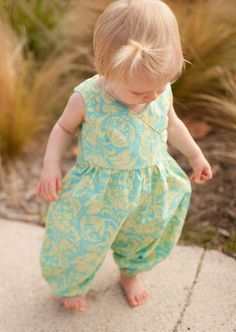 Just what I was looking for! A cute long pant romper. Cannot wait to whip one up :)