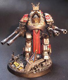 40k - Grey Knights Venerable Contemptor Dreadnought
