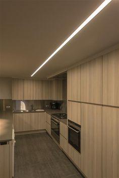 2U recessed kitchen lighting by TAL