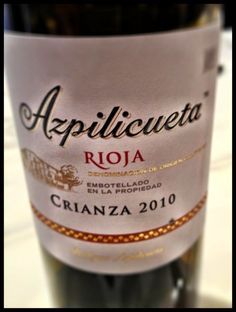 El Alma del Vino.: Vino y Gastronomía : Bodegas Juan Alcorta Azpilicueta Crianza 2010 en Restaurante Delicatto - Logroño.