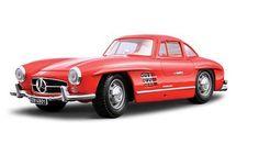 1/24 1954 Mercedes-Benz 300 SL (Red) Metal Kitset