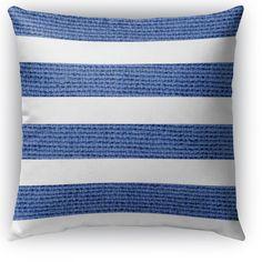 Centerville Burlap Indoor/Outdoor Throw Pillow