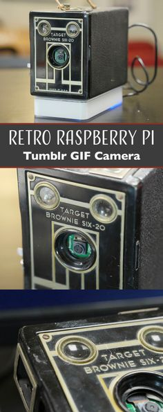 Find out how to put a Raspberry Pi and Pi Camera inside a retro film camera, and program it to upload GIFs to Tumblr.