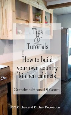 Kitchen DIY Decorati