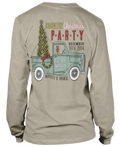 Christmas Party T-shirt.