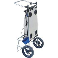 RIO Wonder Folding Rectangle Beach Cart/Table, As Shown