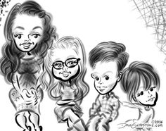 See all the Christening #caricatures I drew last night in Queens   https://facebook.com/pages/Caricature-Artist/65878249487 http://DaleGladstone.com