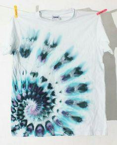 Lightly Dyed Swirl
