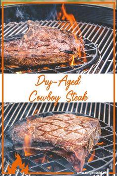Ein perfektes Steak vom Grill? Was gibt es hier alles zu beachten? - Die Infos, sowie Tipps und Tricks rund ums perfekte Steak gibts hier zum Nachlesen. #steak #cowboysteak #blondedaquitaine #rind #steakliebe #steakrezept #grillblogger #grillen #grillzeit #fleischgenuss #steakrezepte T Bone Steak, Cowboy Steak, Bbq, Steaks, Tricks, Grilling, Meat, Inspiration, Perfect Steak