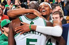 Celtics legends.  We will miss you!