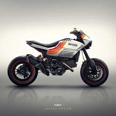 Assorted Ducati Concepts by Jakusa Design - Asphalt & Rubber