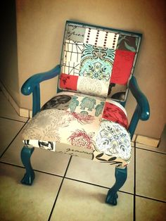 Patches upholstery