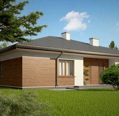 Z321 to wyjątkowy dom z kategorii projekty domów parterowych Garage Doors, Shed, 1, Outdoor Structures, Outdoor Decor, Home Decor, Plants, Houses, Projects