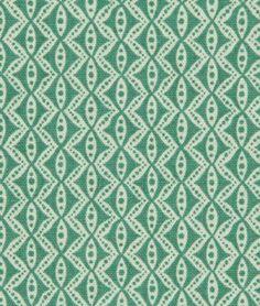 Robert Allen @ Home Hand Motif Pool Fabric - $14.2 | onlinefabricstore.net