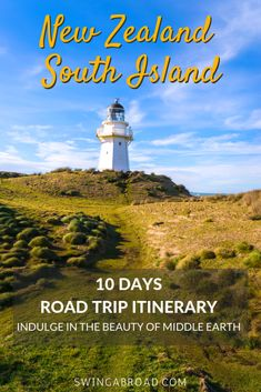 10 Days New Zealand South Island Itinerary for road trip full of details on unmissable attractions and things to do. Brisbane, Melbourne, Sydney, New Zealand Itinerary, New Zealand Travel Guide, New Travel, Travel Goals, Travel Tips, Travel Europe
