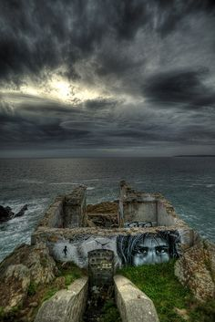 Liliwenn | Crimes of Minds Project, Brest - the view from the guest house - someday - #S0FT PIN MIX
