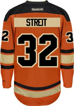 Philadelphia Flyers Mark STREIT  32  A  Official Third Reebok Premier  Replica Ad CoolHockey. Eric LindrosNhl JerseysHockey ... 3190b8204