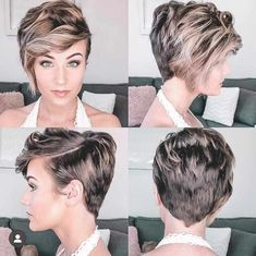 50 Best Pixie Hairstyle Ideas For Short Hair 2019 Women, we have assembled some pleasant ladies short hair styles choices. We realize you cherish short hair, and we realize that you don't need to remain with a Easy Everyday Hairstyles, Latest Short Hairstyles, Bob Hairstyles For Thick, Haircuts For Fine Hair, Pixie Hairstyles, Pixie Haircuts, Popular Hairstyles, Unique Hairstyles, Women Pixie Haircut