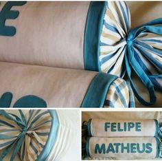 Rolos para cama e berço de meninos by ENTRE LINEAS