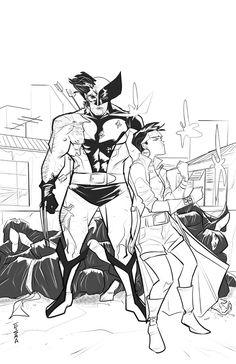 Wolverine and Jubilee by Supajoe.deviantart.com on @DeviantArt