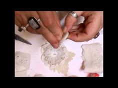 Stunning Shabby Chic Flower Tutorial - jennings644 - YouTube