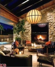 Tour #JenniferAniston's Beverly Hills Home: Lanai>> http://www.frontdoor.com/photos/tour-jennifer-anistons-beverly-hills-home-for-sale?soc=pinterest