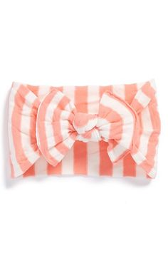 Baby Bling Baby Blind Stripe Headband (Baby Girls) available at #Nordstrom
