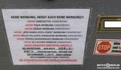 notes of berlin ist eine hommage an all die notizen die berlin tagt glich im stadtbild. Black Bedroom Furniture Sets. Home Design Ideas