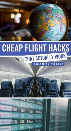 Ready to explore some new destinations this fall? This helpful guide to 21 of some of the smartest & most creative hacks for finding cheap flights (shared by travel pros!) will help you plan your trip and book your flights while saving money. Air Travel, Cheap Travel, Solo Travel, Budget Travel, Airline Travel, Travel Wall, Packing Tips For Travel, Travel Advice, Travel Guides