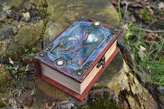 The Tree  Jewellery box hand-painted wooden box Celtic art