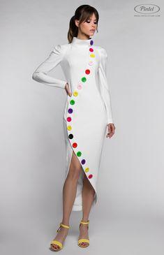 70 Super Ideas Dress Long Sleeve Casual Inspiration - Her Crochet Trendy Dresses, Elegant Dresses, Beautiful Dresses, Casual Dresses, Short Dresses, Outfits Damen, Dress Outfits, Fashion Dresses, Long Sleeve Fitted Dress