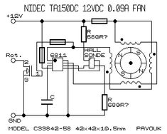 fannidec1 Electronic Circuit Projects, Electronic Schematics, Motors, Audio, Electronic Circuit, Circuits