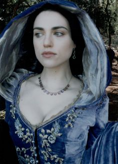 Morgana. Her dress looks blue here. Not sure why, but it's cool.