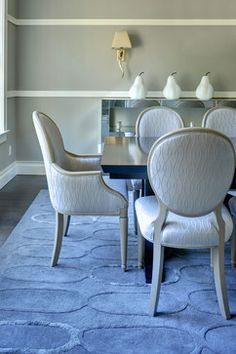 Charmant East Hampton Modern Dining Room By Karen Bowen Interiors Of New Jersey.  Dining Chairs By