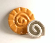 Clay Stamp Spiral Pottery Pattern or Texture Tool by GiselleNo5