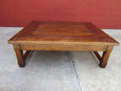 French Rustic Coffee Table Large Coffeetable Living Room Furniture