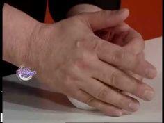 Jorge Rubicce - Bienvenidas TV - Enseña a realizar la textura imitación ...