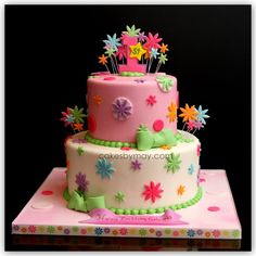 1st Birthday Cake by Cakes by Maylene, via Flickr
