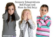 We've been working hard over the last year to bring you monthly posts about sensory processing and how the sensory systems relate to child development. Now, as a part of an even bigger series with over 40 other bloggers called Decoding Everyday Kid Behaviors, we'll discuss sensory red flags – behaviors related to sensory integration that might indicate that it's time to get some expert advice to help support your child's sensory needs. #sensory #SPD #whentogethelp #childdevelopment