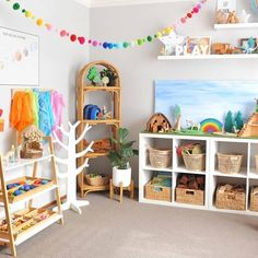 25 +> Clean playroom, children fed and bathed and I secretly count down the minute .- 25 + › Sauberes Spielzimmer, Kinder gefüttert und gebadet und ich zähle heimlich die Minute runter … Clean game room, children fed and bathed and … - Playroom Design, Kids Room Design, Playroom Ideas, Children Playroom, Small Playroom, Play Room Kids, Gray Playroom, Colorful Playroom, Playroom Wall Decor
