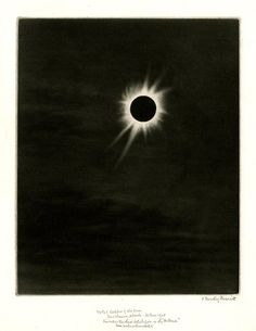Frederic Dawtrey Drewitt Total Eclipse of the Sun, 1905.