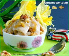 Banana peanut butter ice cream - without an ice cream maker!